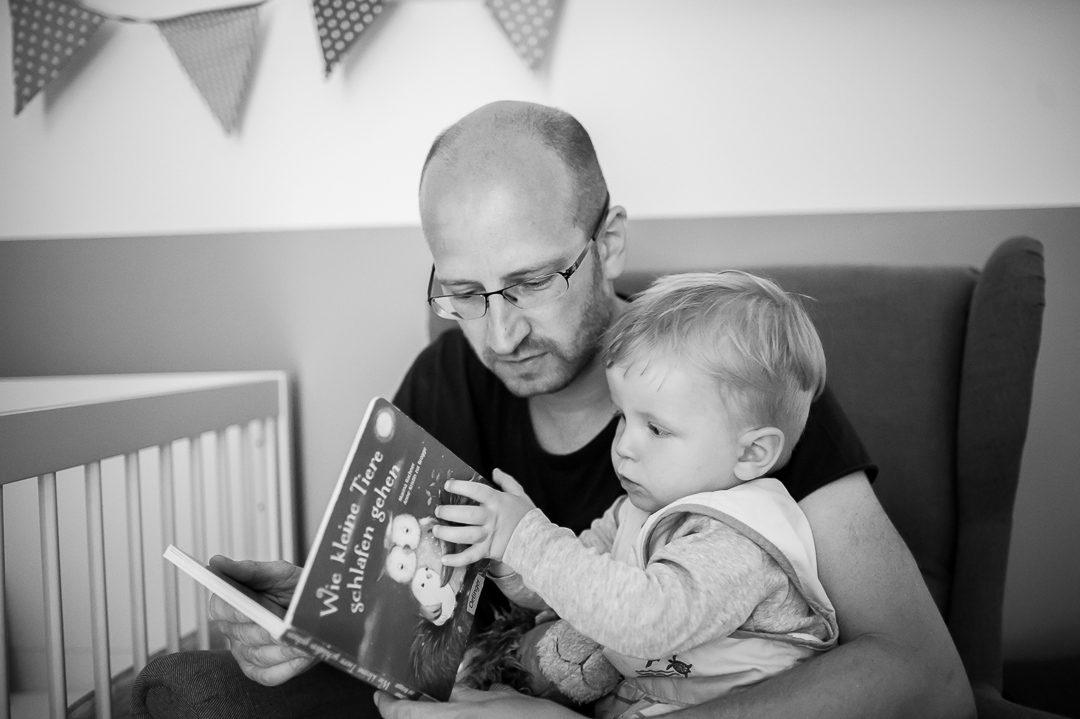 bedtime story book Wie kleine Tiere schlafen gehen